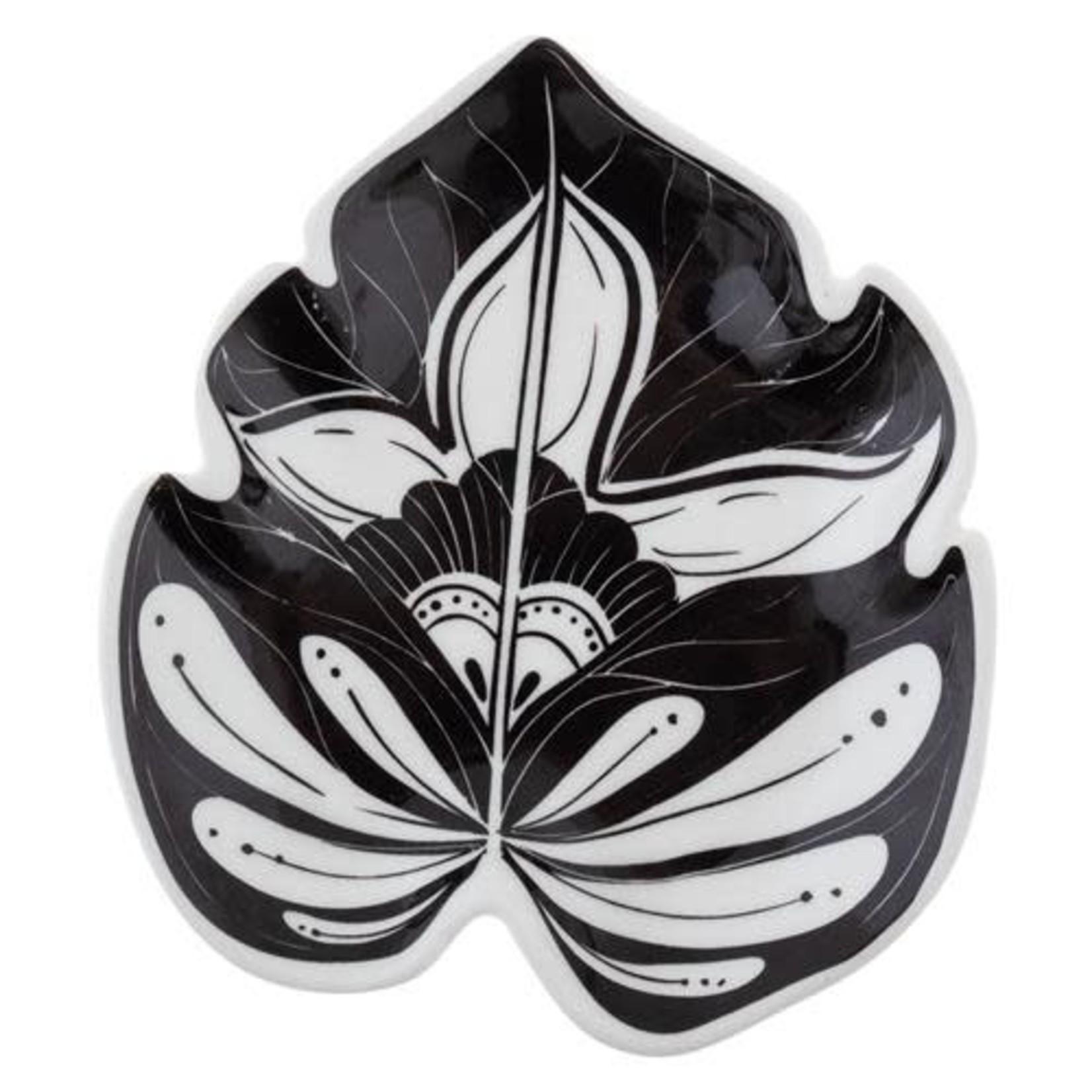 Karma Boho B/W Shaped Trinket Dish