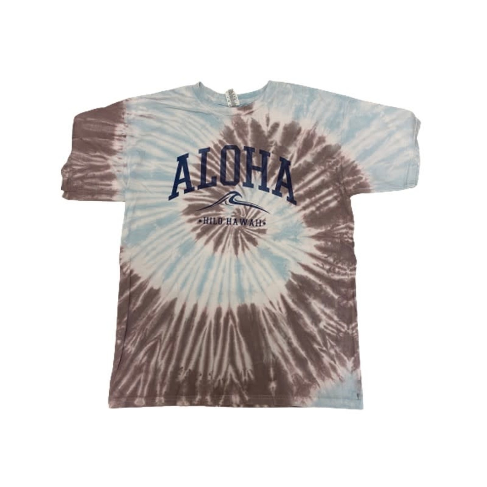 Blue 84 Ivy Seen This B4 Wave Aloha Tie Dye Tee