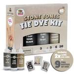 Doodle Hog Stone Tones Black Fabric Clothes Tie Dye