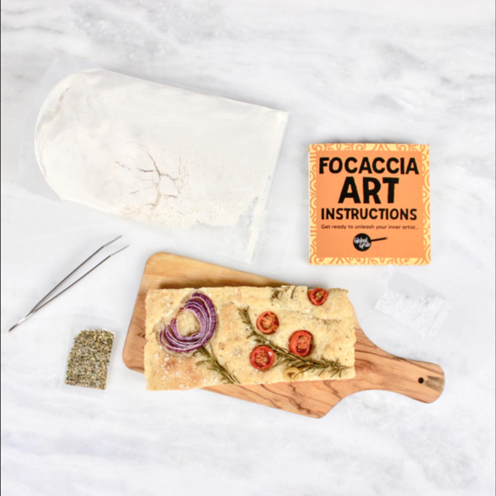 Global Grub DIY Focaccia Art Kit