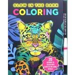 Simon & Schuster Glow in the Dark Coloring