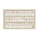 BeginAgain Sign Language Alphabet Tiles