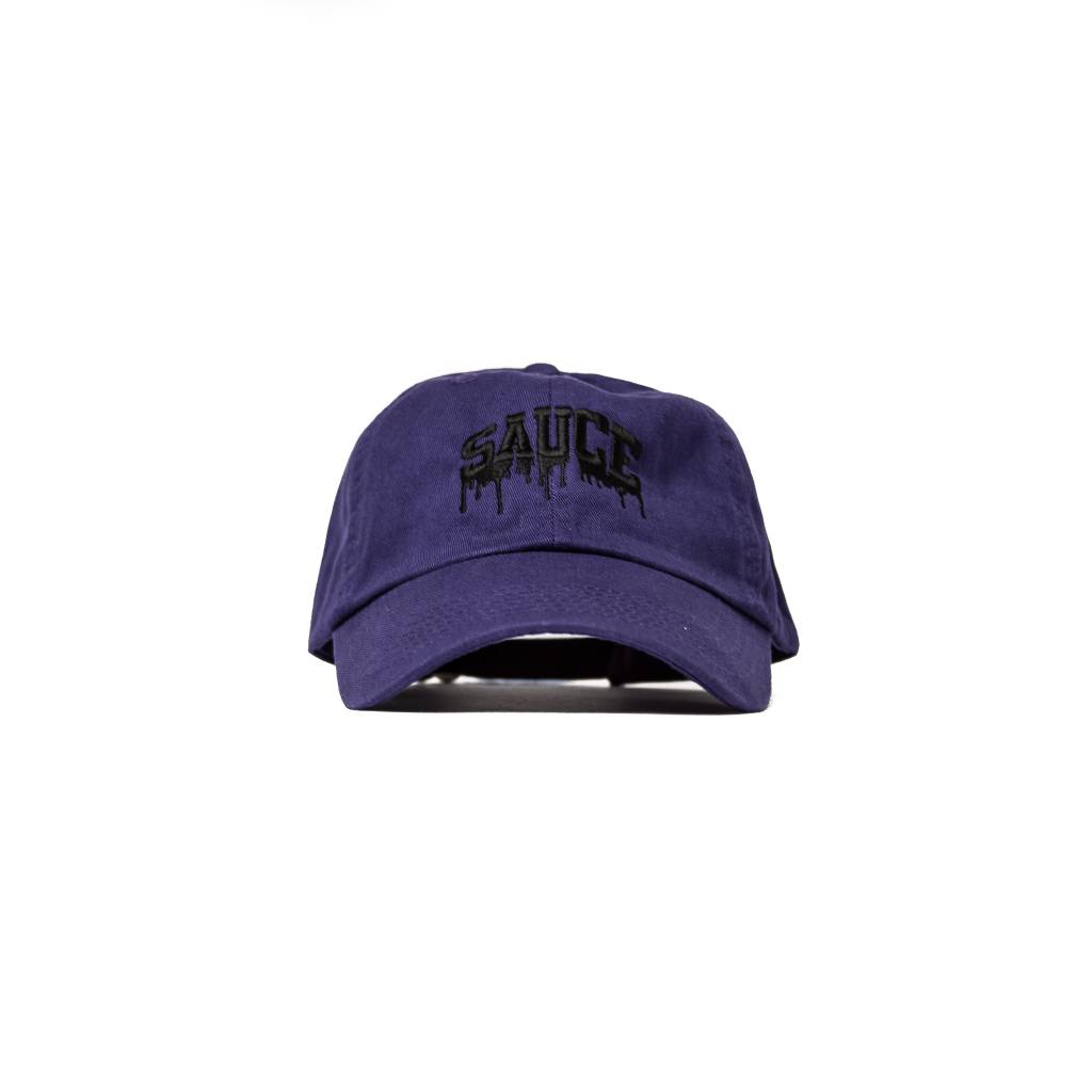Seazoning Sauce Dad Hat  Purple Black  - Homme f821aea2a52