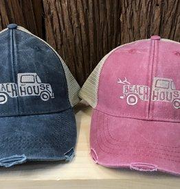 Beach House Beach House PickUp Truck Low Pro Trucker Hat