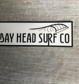 Bay Head Surf Company BAY HEAD SURF CO LOGO STICKER