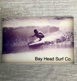 Bay Head Surf Company BAY HEAD SURF CO VINTAGE WAVE STICKER
