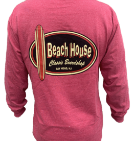 Beach House Beach House Adult Long Sleeve Tee
