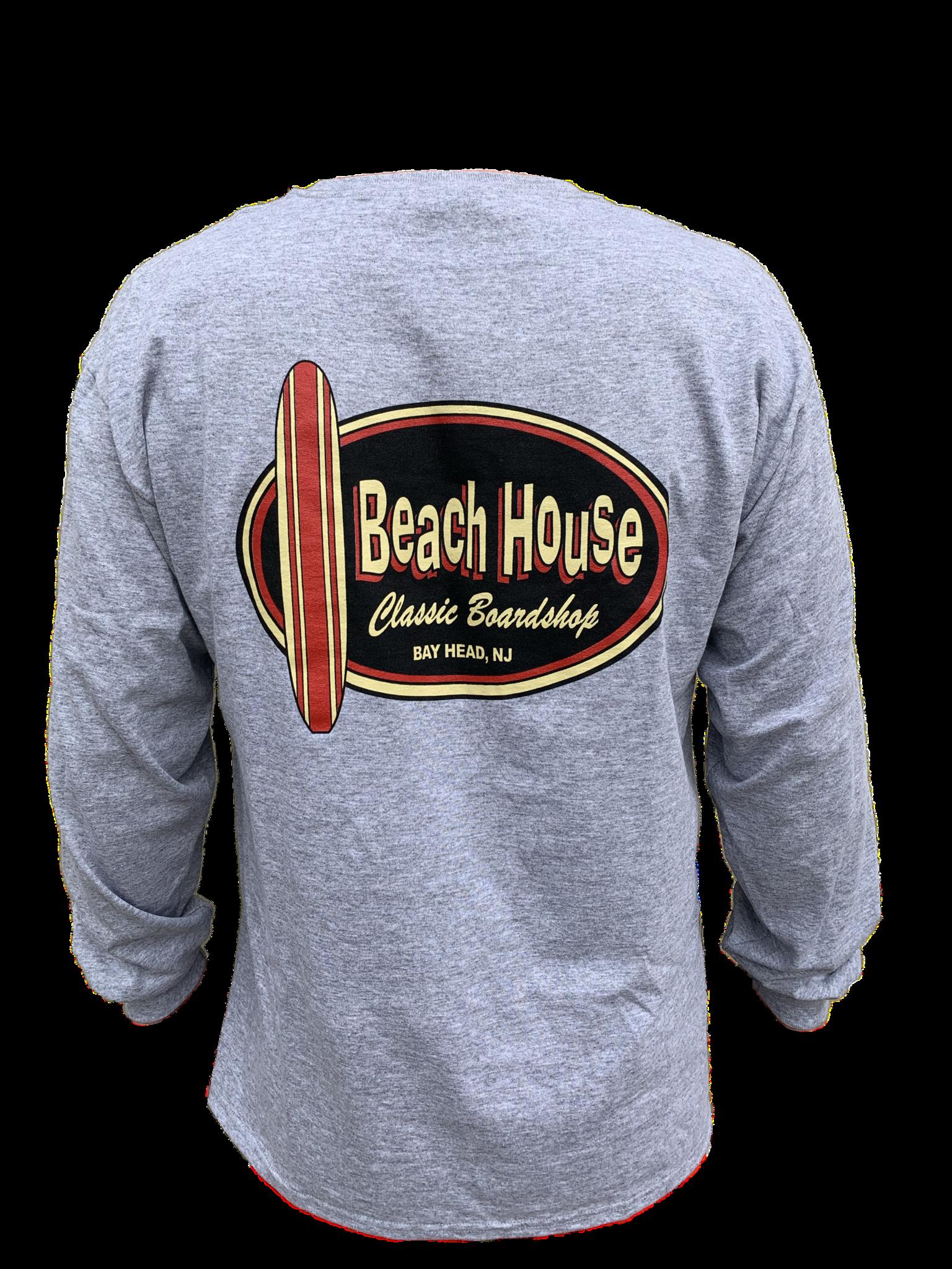 Beach House Beach House Adult Long Sleeve Tee