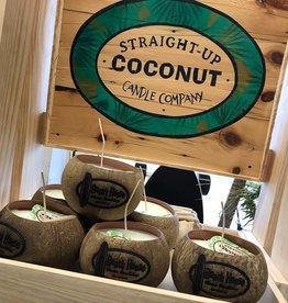 STRAIGHT UP COCONUT CANDLES -COCONUT