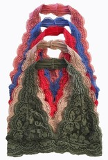 lace halter bralette