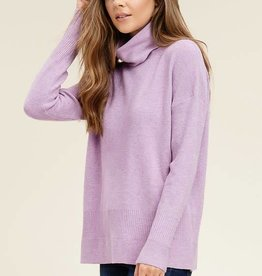 Turtle neck pull over sweater
