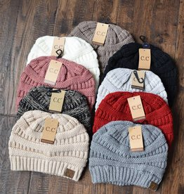 C.C. knitted beanie