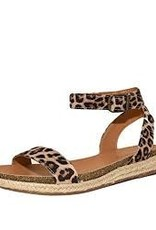 Cheetah one band ankle strap sandal