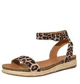 Cheetah one band ankle strap sandal