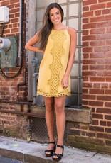 Crochet lace dress