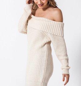 Sand OTS sweater