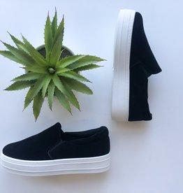 Slip on flatform sneaker
