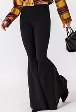 High waist flare pants