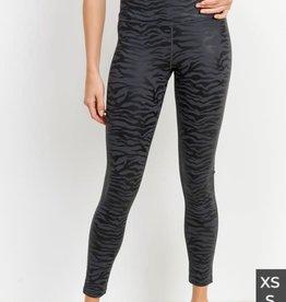 Tiger foil print leggings