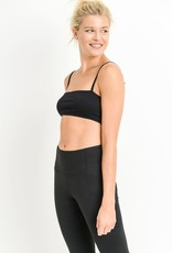 Strap athleisure tube top