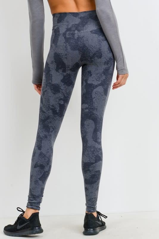 Camo high waist leggings