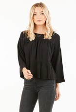 Tiered baby doll style top