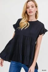 Black ss tiered top