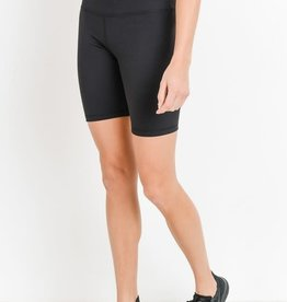 Black highwaist short leggings