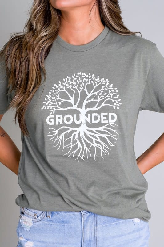 Grounded graphic tee