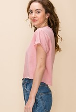 SS cropped tee