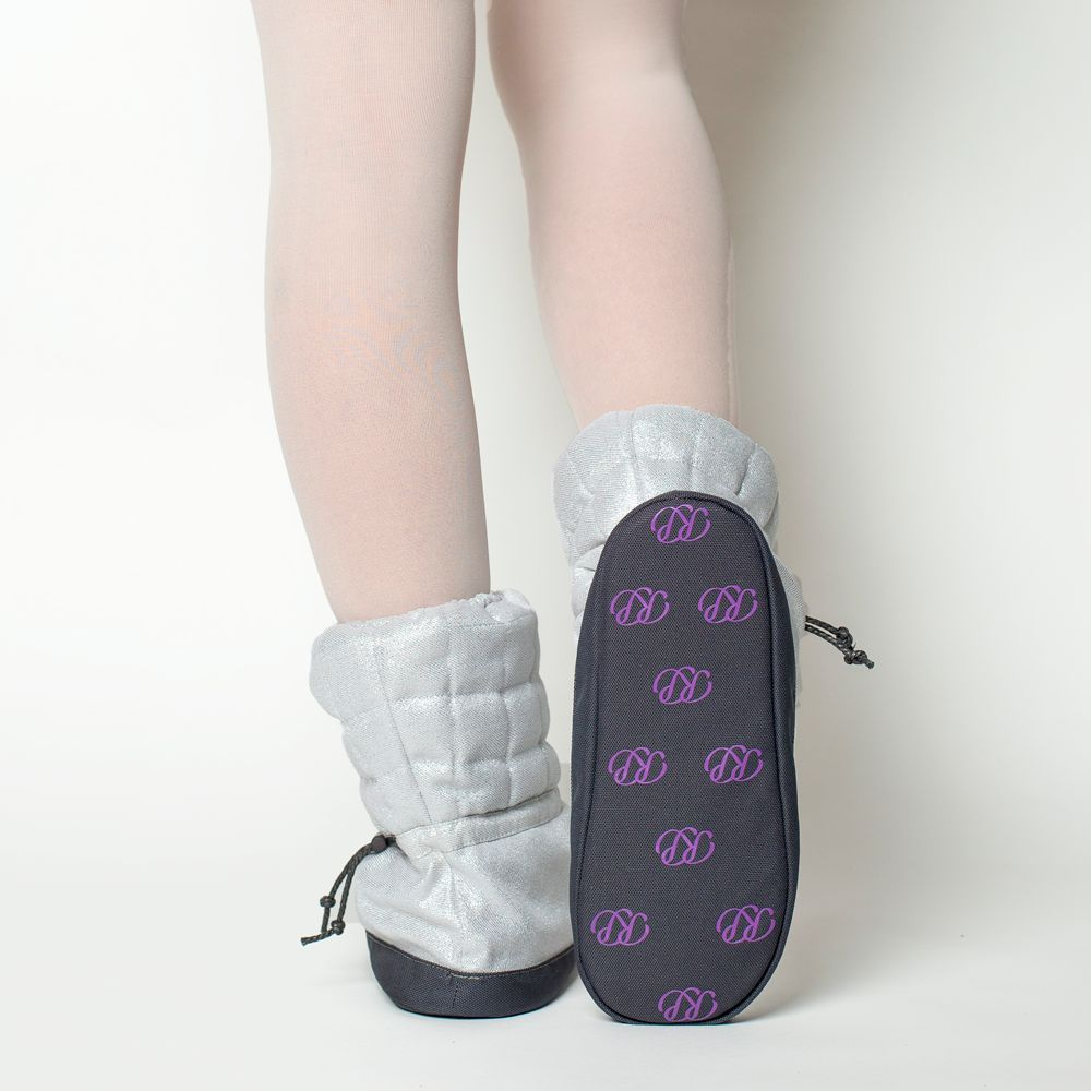 Russian Pointe Russian Pointe Sparkling Quilted Booties