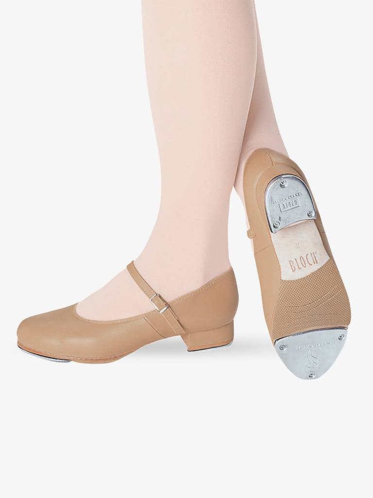 Bloch Child Tap On Leather Tap Shoe