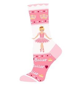 Sugar Plum Ballerina Pink Sock