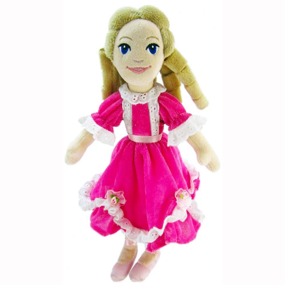 Plush Clara in Pink Dress