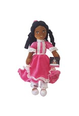 African American Plush Clara in Pink Dress