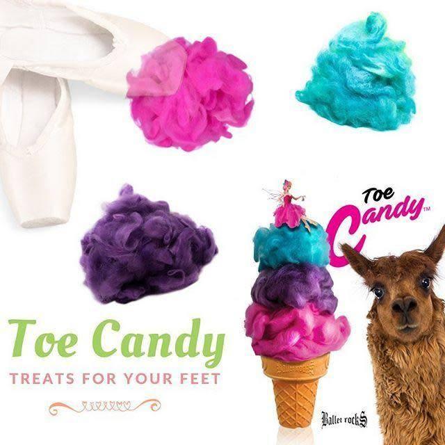 Ballet Rocks Toe Candy