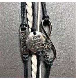 C and J Merchantile Live Your Dream Bracelet