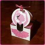 C and J Merchantile Ballerina Gift Boxes
