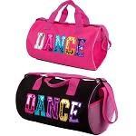 "C and J Merchantile Canvas 16"" DANCE Barrel Bag"