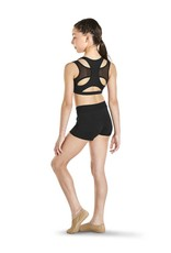 Kaia Girls Mesh Racer Back Crop Top