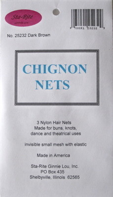 Sta-Rite Chignon Invisible Hair Net