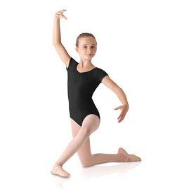 Leo Dancewear Child Front Pinch Cap Sleeve