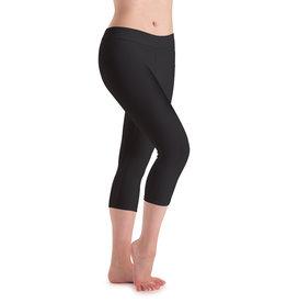 Motionwear Adult Flat Waist Capri Leggings
