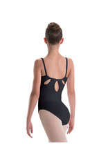 Adult Pinch Front and Tear Drop Back Cami Leotard