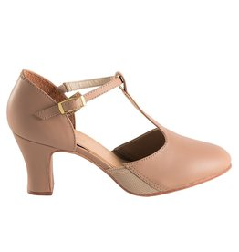 """So Danca Clarice 2.5"""" Leather T-Strap Character"""