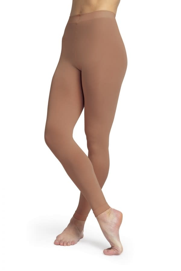 Bloch Adult Contoursoft Footless Tight