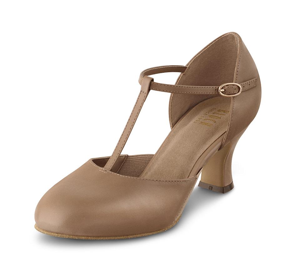Bloch Split Flex T-Strap Heel