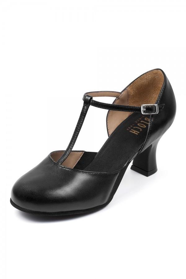 Bloch Split Flex T-Strap Heel Shoe