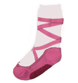 Nutcracker Ballet Gifts Pink Pointe Heavy Weight Socks