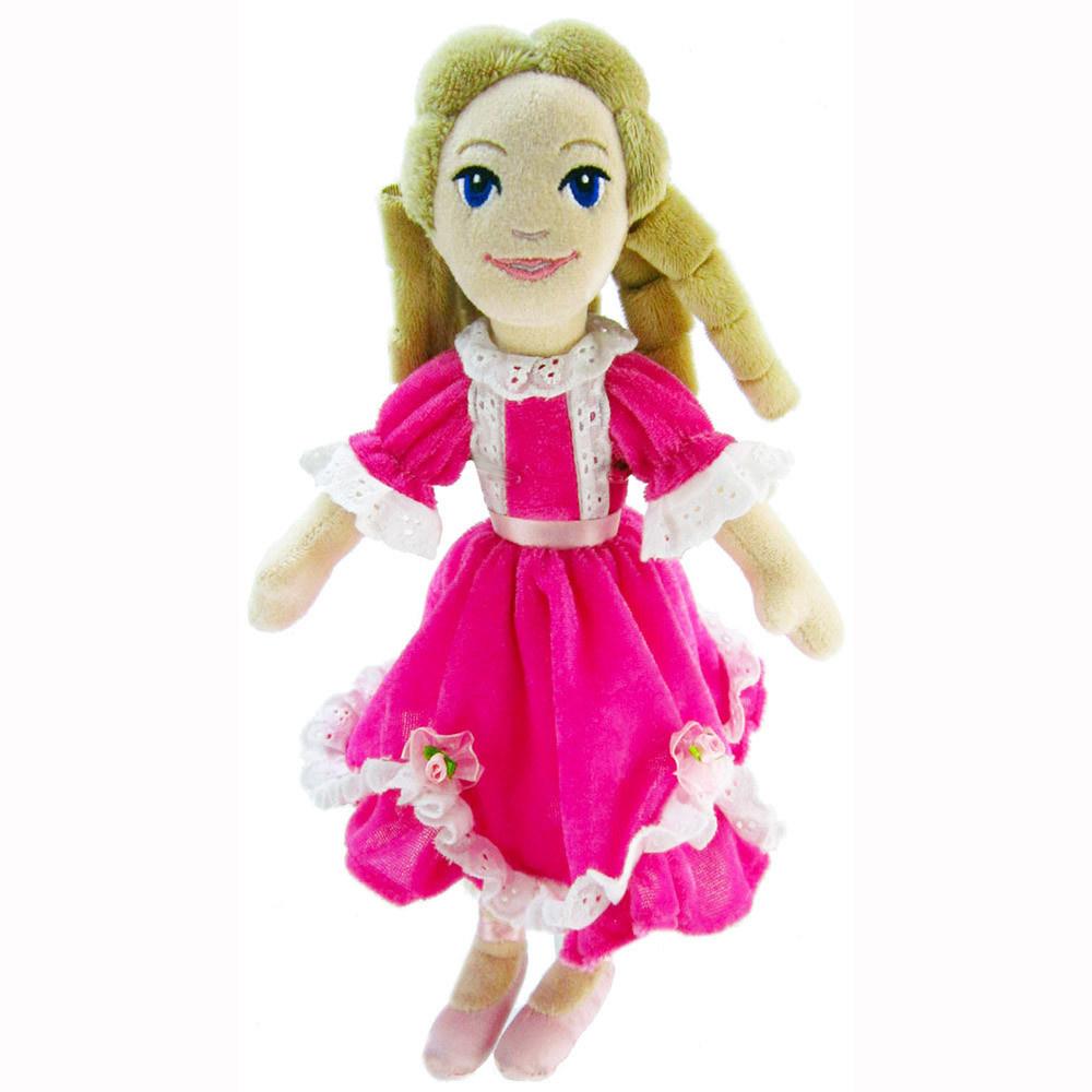 Nutcracker Ballet Gifts Plush Clara in Pink Dress